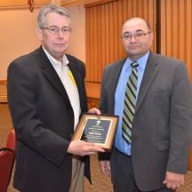 Longevity Award -  Terry Walsh (left)
