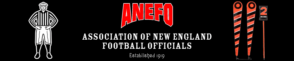 Association of New England Football Officials (ANEFO)